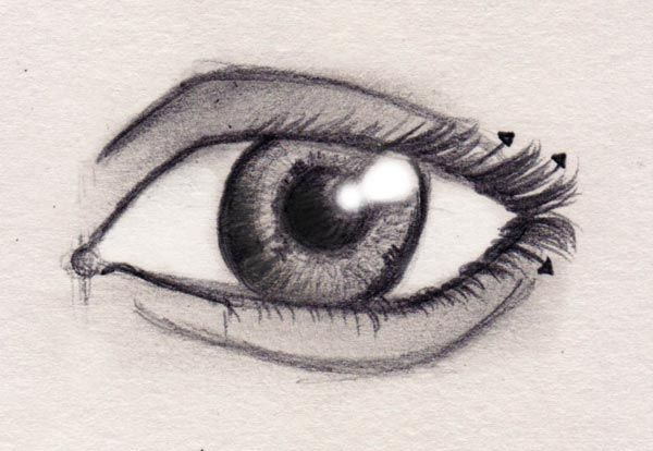 Cool Pics To Draw   How to draw eyes (part 2)   Drawing anatomy   Drawing FActory