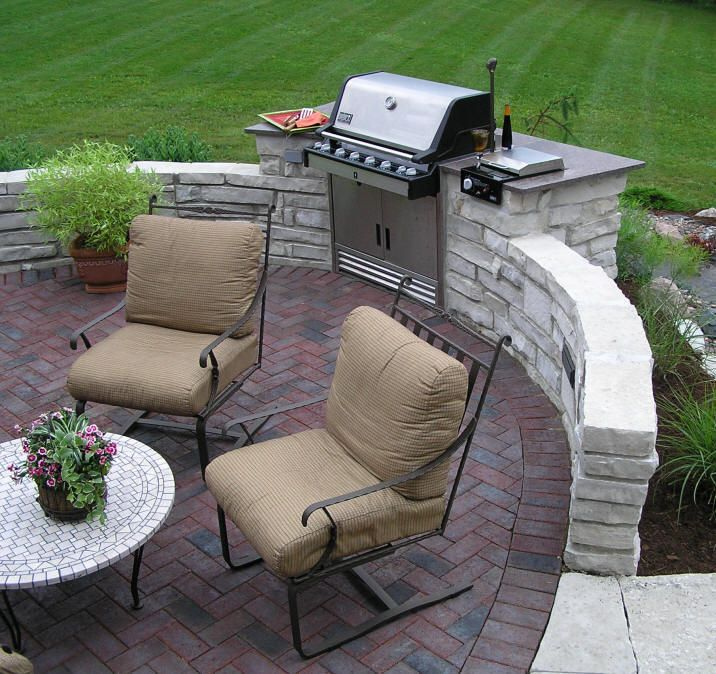 60 Best Images About Built In Grill Ideas On Pinterest