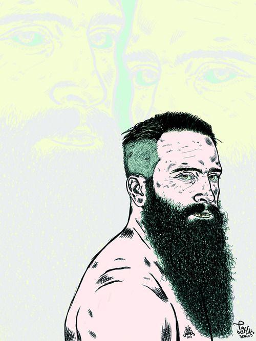 ilustracion beard 39 s world pinterest. Black Bedroom Furniture Sets. Home Design Ideas