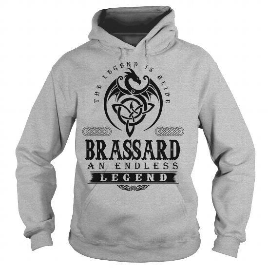 I Love BRASSARD Shirts & Tees