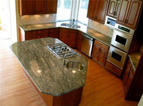 Kitchen Ideas Granite Countertops 44 best brilliant green granite kitchen countertops images on