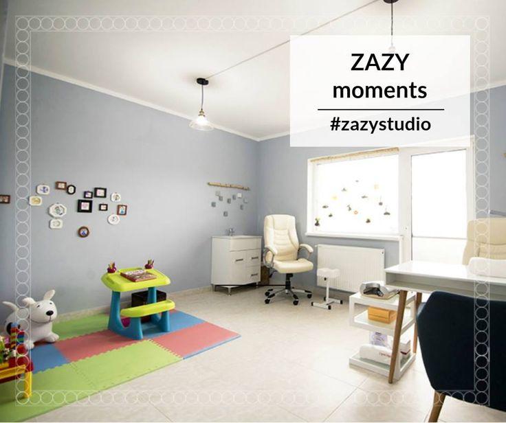 Bucură-te de momente ZAZY! În fiecare cameră avem câte un colțișor amenajat ca un loc de joacă pentru copii. Deci... cât timp tu te răsfeți la mani-pedi, cel mic se bucură de jucării.  Fă o programare: 0720.307.202 #zazystudio #zazymoments #decembrie #cluj