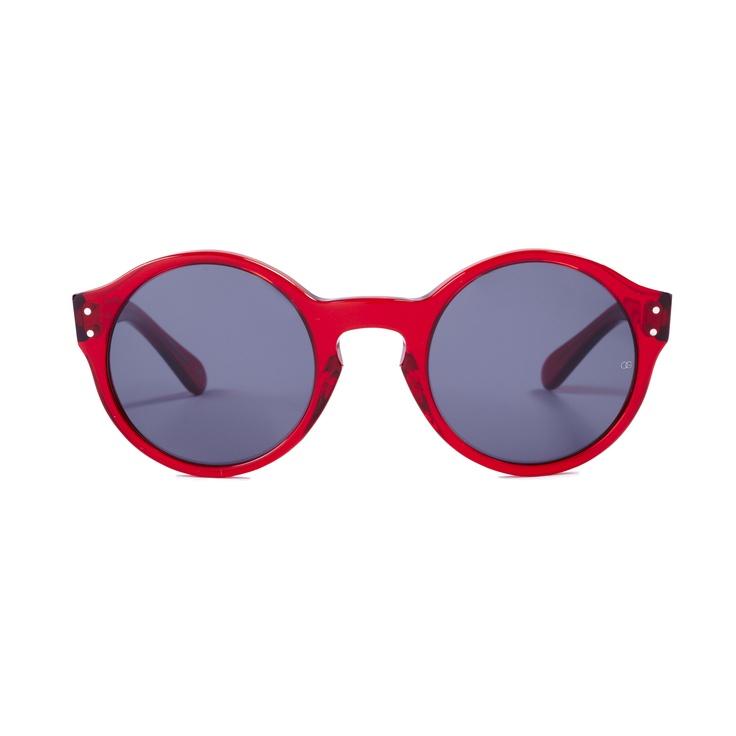 'Casper' in Claret - Oliver Goldsmith Sunglasses #sunglasses #coolshades #vintagestyle #olivergoldsmith