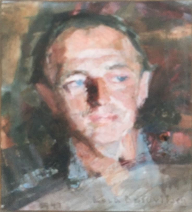 Viktor Butovitsch painted by his sister Lola Butovitsch