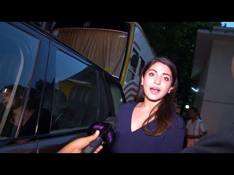 Anushka Sharma SPOTTED at Mehboob Studio in Mumbai.