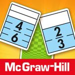 Everyday Mathematics® Equivalent Fractions™   The Equivalent Fractions game by McGraw Hill offers a quick and easy way to practice and reinforce fraction concepts and relationships. This game runs on the iPad, iPhone, and iPod Touch. Players try to match equivalent fractions on cards showing halves, thirds, fourths, fifths, sixths, eighths, tenths, and twelfths.