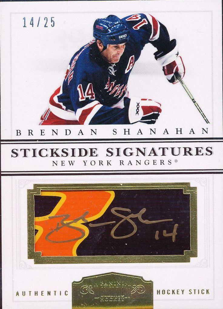 Prime Dominion Bonus Stickside Signatures Brendan Shanahan