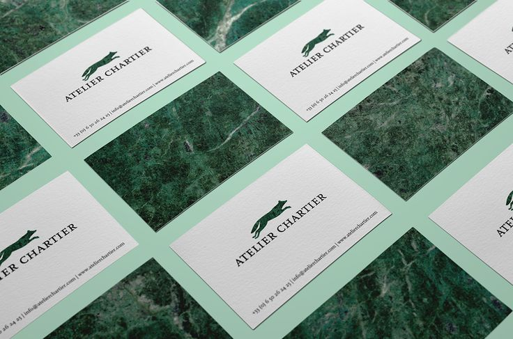 Atelier Chartier | Visual identity on Behance