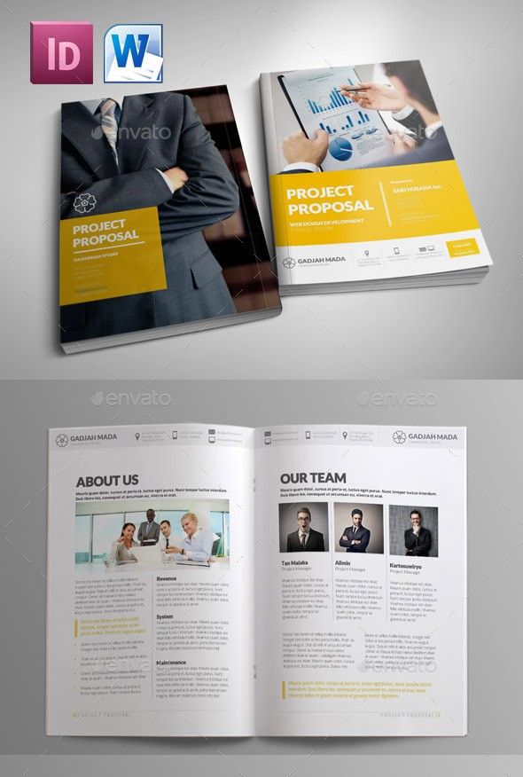 55+ Best Business Proposal Templates in InDesign PSD & MS Word
