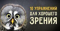 10упражнений для хорошего зрения