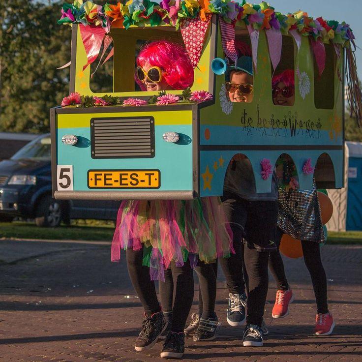 De Benenwagen - Kinderoptocht 2016