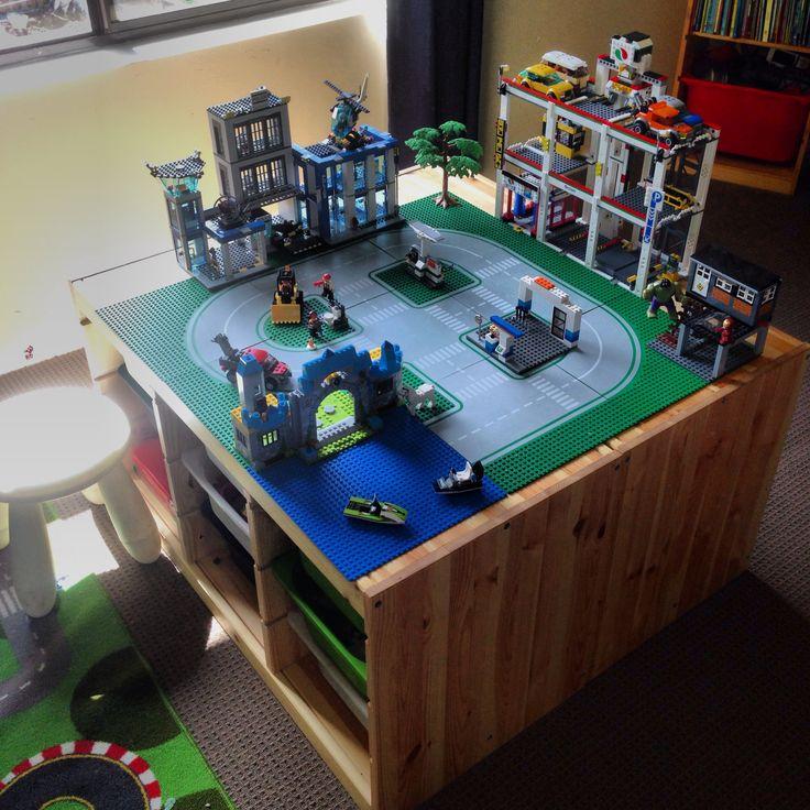 Pinterest the world s catalog of ideas - Ikea trofast lego table ...
