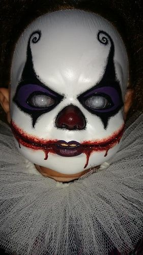 Evil clown doll makeover on Halloween Forum