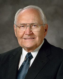 L. Tom Perry  Quorum of the Twelve of the Church of Jesus Christ of Latter-day Saints, The Mormons.