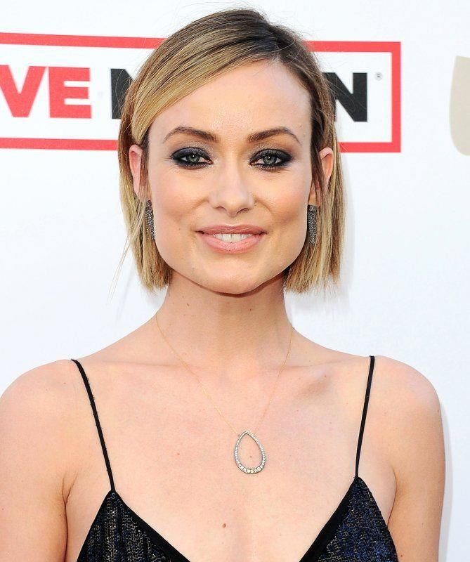 How To Style Bobs And Lobs Olivia Wilde Wellige Bob Frisuren