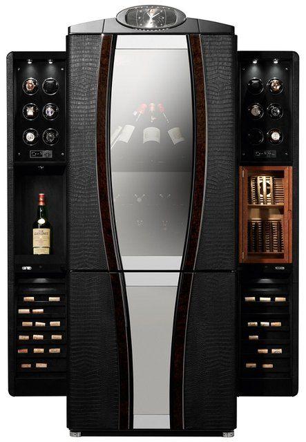 Fancy - Buben & Zorweg Luxury Safe for Watches, Wine and Cigars   The Luxury Bazaar Blog