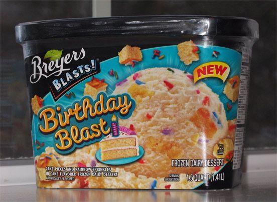 Breyers Ice Cream Flavors | Breyer's Birthday Blast FDD Review