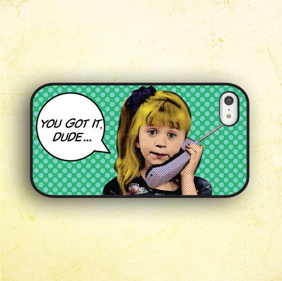 So crazy watching Full House right now Love this case love em both! FULL HOUSE PHONE