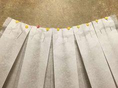 Tutoriales DIY: Cómo hacer una falda midi con pliegues vía DaWanda.com                                                                                                                                                                                 Más