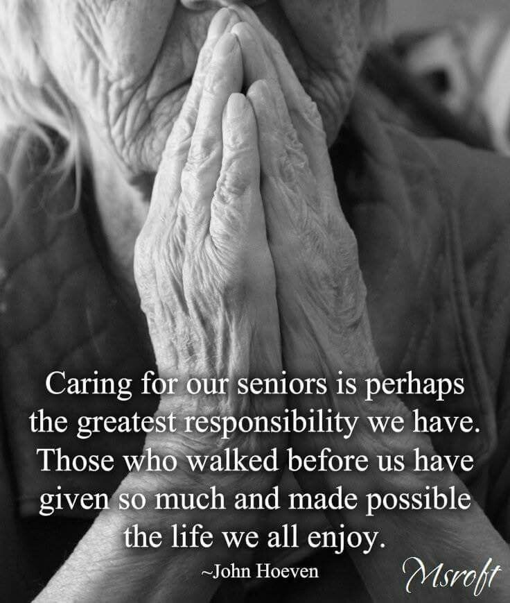 caring for elderly Learn all about caring for a senior this manual will walk you through the day-to-day routine of elderly care proper nutrition, excerise, medication and much more.