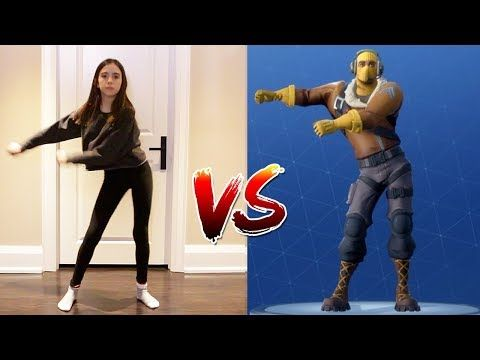 Fortnite Dance Challenge In Real Life Youtube Fun Dance