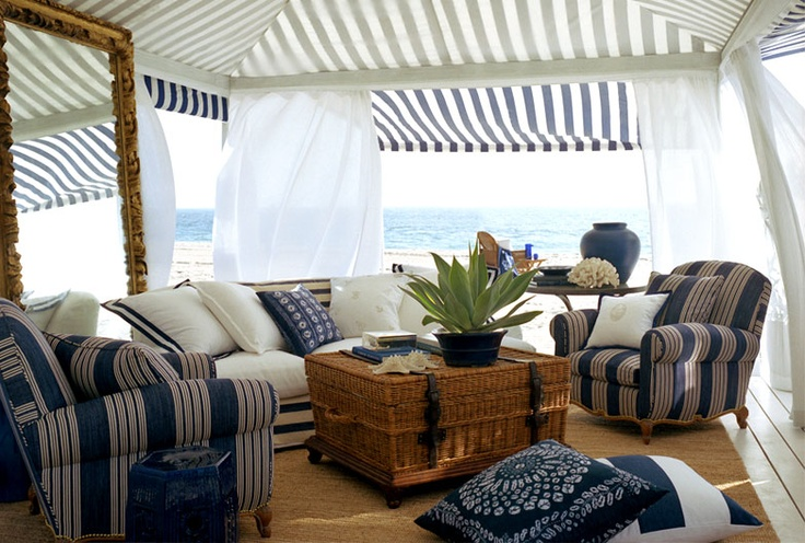Summer with Ralph Lauren...! www.PacificHeightsPlace.com always like the navy and white.