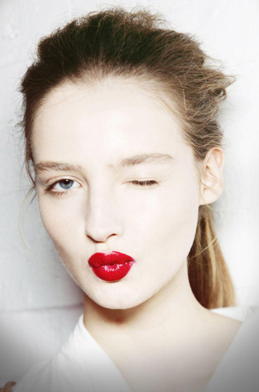 ruby red.Red Lipsticks, Amanda Nørgaard, Lipsticks Colors, Beautiful Inspiration, Lèvres Rouge, Makeup, Lipsticks Collection, Pink Lemonade, Lips Colors