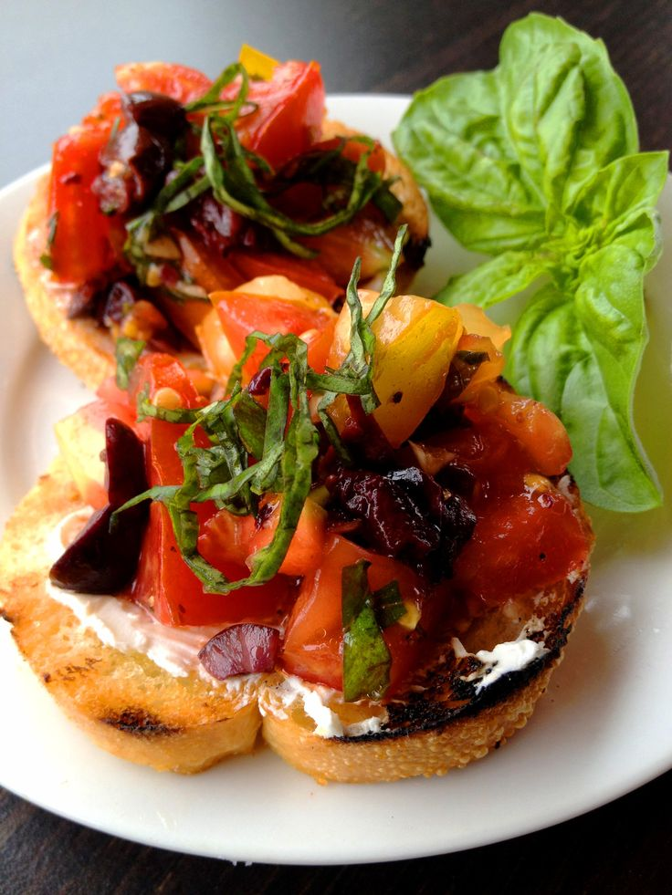 Yummy Bruschetta