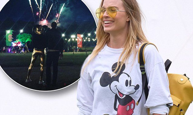 Master of disguise? Margot Robbie and husband Tom Ackerley went unnoticed as they attended a low-key music festival over the weekend:…