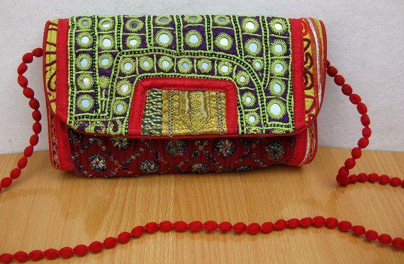 Handbag /colorful bag / purse /tribal bag/ embroidered bag/