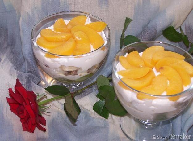 Deser serowo-owocowy