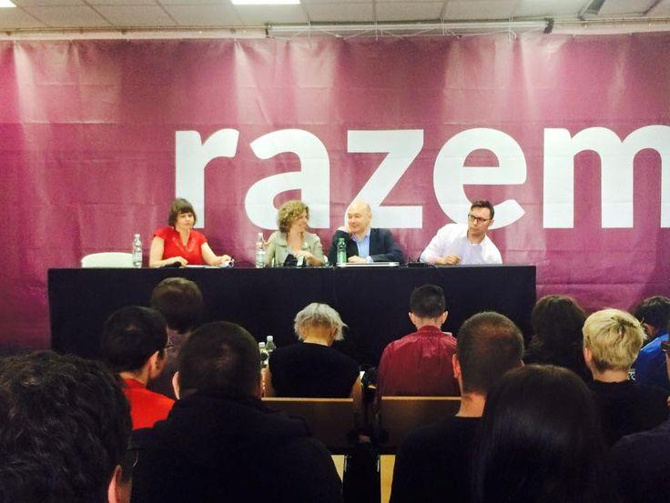 Panel dyskusyjny z Marią Świetlik, Rafałem Wosiem i Wojciechem Orlińskim - rozmawialiśmy o prekariacie