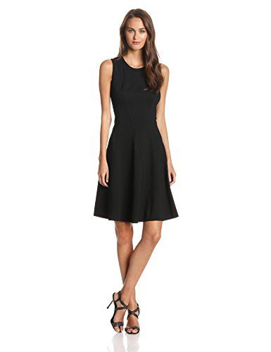 Rachel Roy Collection Women's Seamed Ponte Fit and Flare Dress, Black, 6 Rachel Roy http://www.amazon.com/dp/B00LA7P4VC/ref=cm_sw_r_pi_dp_Aqy8vb07MBEVQ