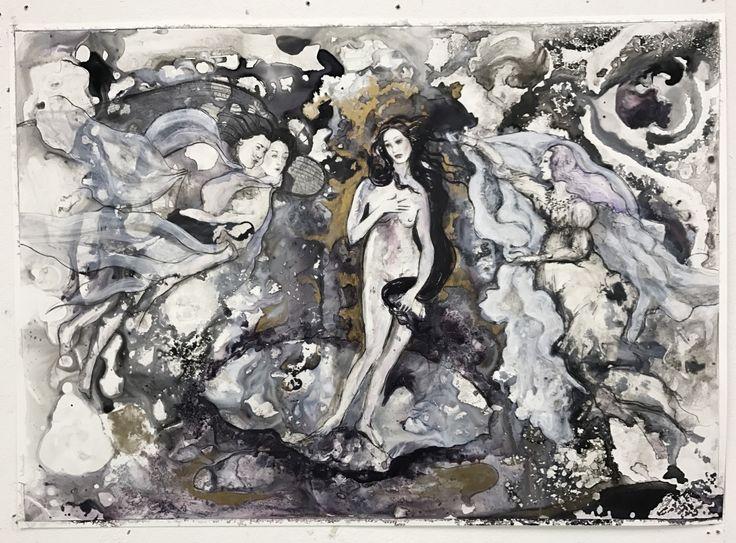 Birth of Venus Series «  Wine Fairies