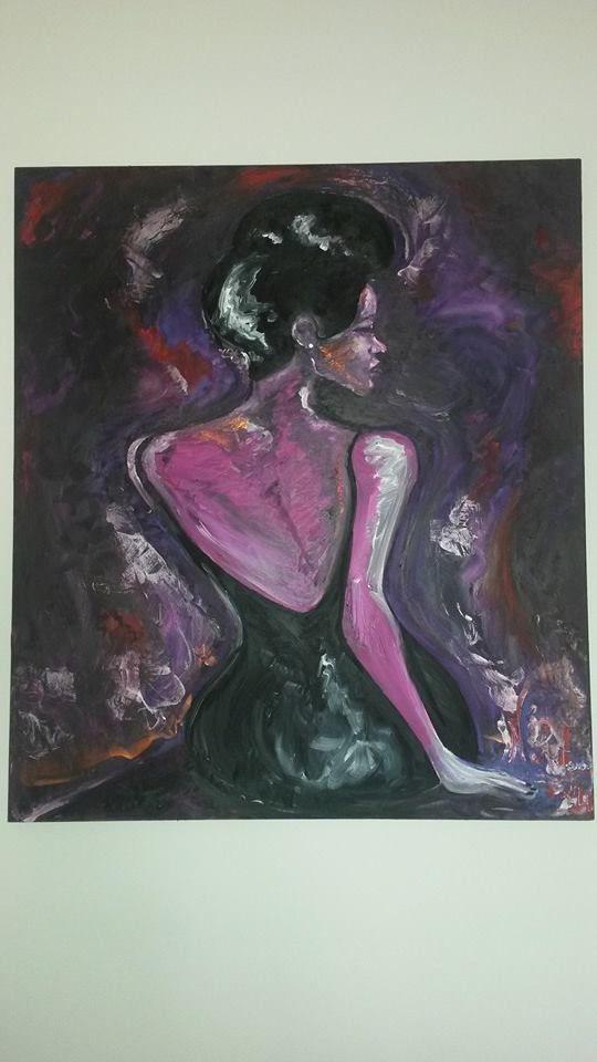 Regina di Picche (olio su tela 70x80)