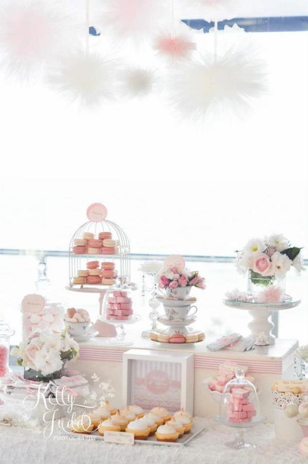 Pretty Pink Vintage Wedding via Kara's Party Ideas | KarasPartyIdeas.com #pretty #vintage #pink #wedding #party #reception #ideas
