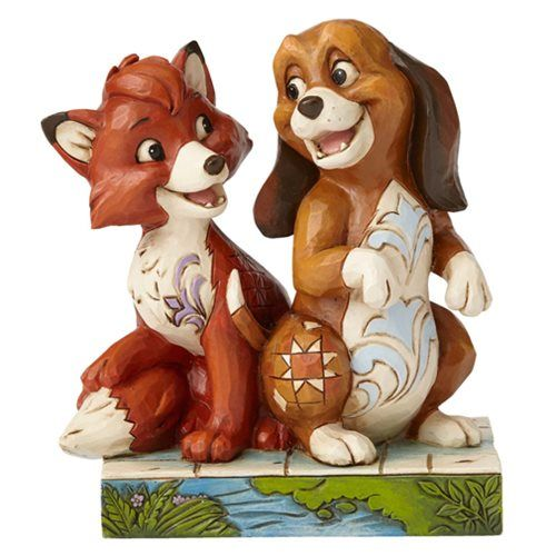 Disney Traditions Fox and the Hound Statue - Enesco - Fox and the Hound - Statues at Entertainment Earth