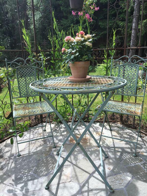 hagemøbler - smijernsmøbler - hage