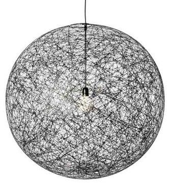 Moooi Random Light - Black - modern - pendant lighting - YLighting
