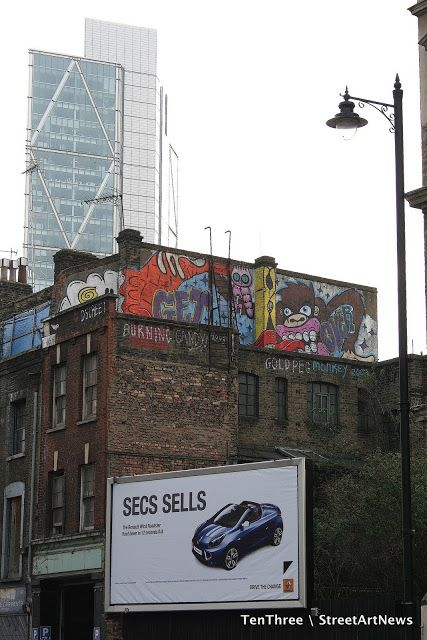 London's Streets: The Burning Candy Crew StreetArtNews