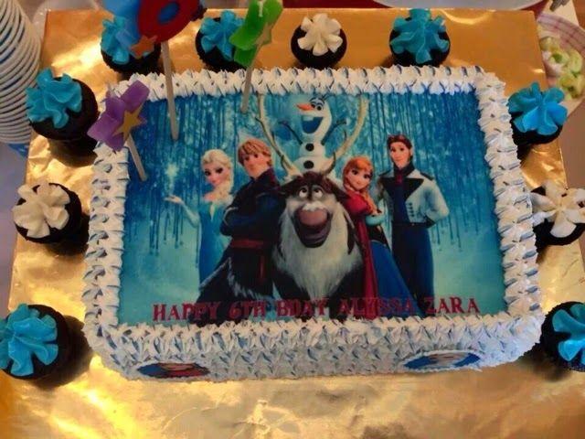frozen edible cake images | Frozen - edible image
