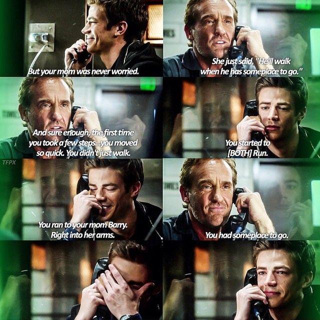 "#TheFlash 1x03 ""Things You Can't Outrun"" - Barry and his dad FEEEEEEEEEEEELSLSLSLSLSLSfgsfkjsdlfkjsglksdjgsd"