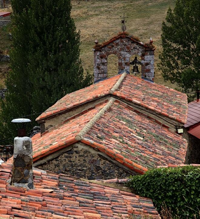 Rooftops. Piedrafita, Castilla y León, Spain