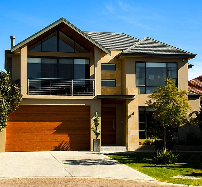 Simple modern facade