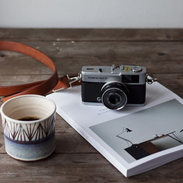 Sail Handmade Retro Leather Camera Strap