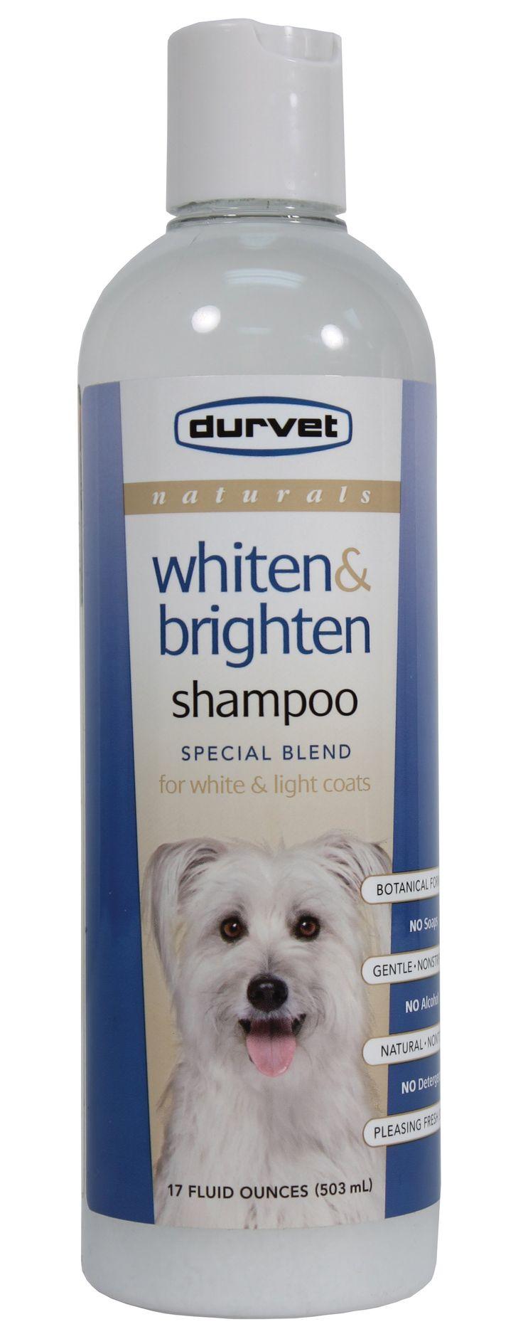 Durvet-Pet D-Naturals Pet Shampoo- Whiten/brighten 17 Oz