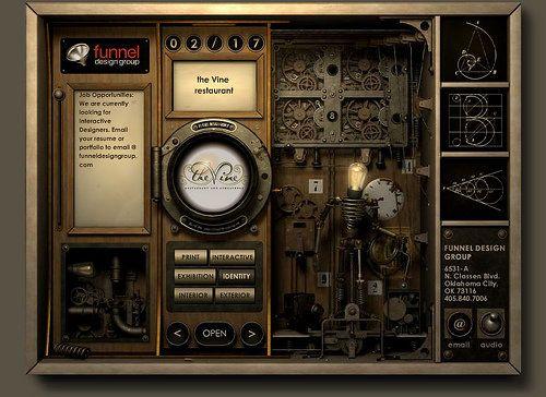 steampunk interface - Buscar con Google