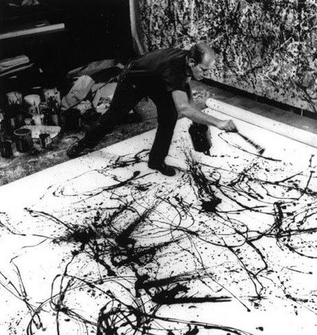 Jackson Pollock and His Work, Hans Namuth