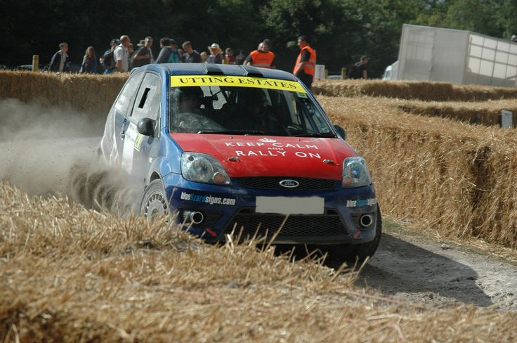At Good Wood Festival Of Speed. Rally Cars.