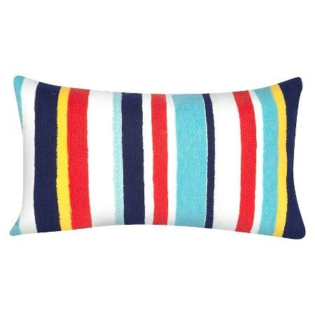 Multi-Colored Outdoor Throw Pillow - Liora Manne : Target